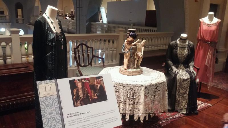 "The ""Dressing Downton"" exhibit at the Lightner Museum in St. Augustine."