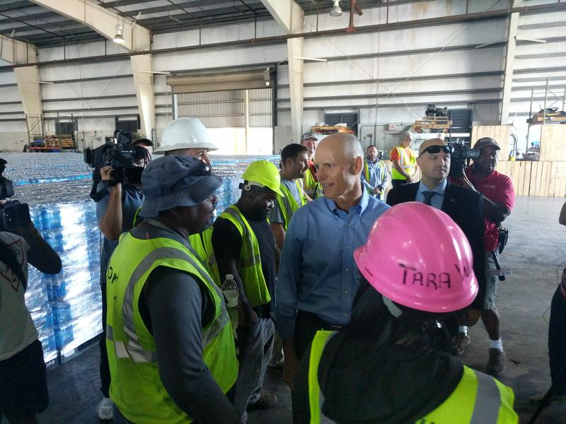 Gov. Rick Scott meeting Crowley employees Wednesday