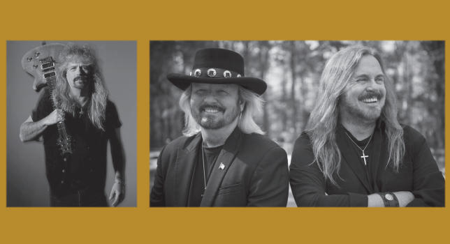 Left to right: Bobby Ingram of Molly Hatchet, Donnie Van Zant of 38 Special and Johnny Van Zant of Lynyrd Skynyrd