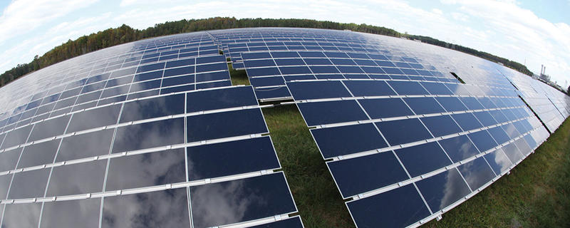 JEA's existing solar farm outside Baldwin