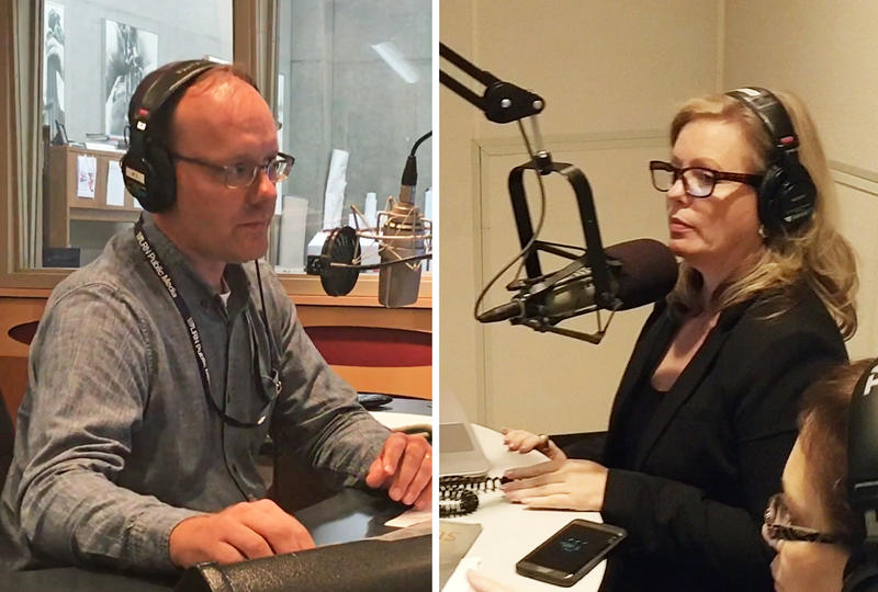 The Florida Round Up Co-Hosts: WLRN's Tom Hudson and WJCT's Melissa Ross
