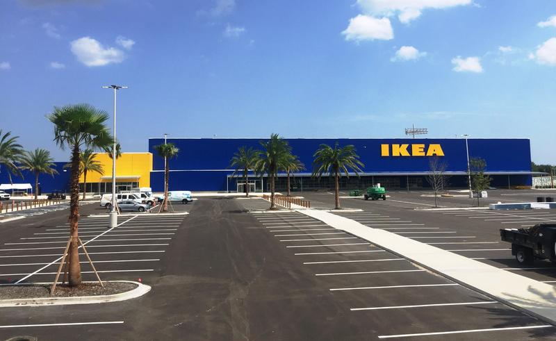 The new IKEA Jacksonville store will open November 8.