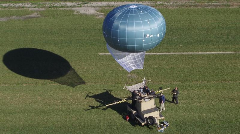Jacksonville's Drone Aviation Corp. makes the Winch Aerostat Small Platform (WASP) drone.