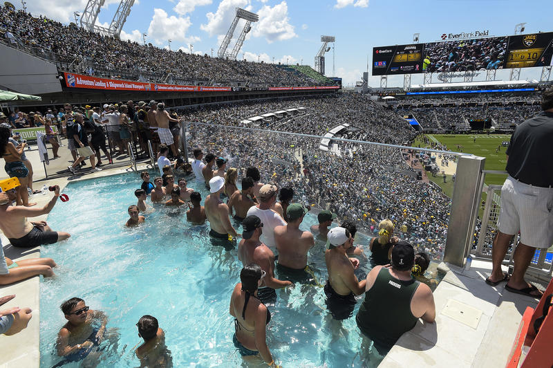 The Jaguars are starting public tours of EverBank Field.