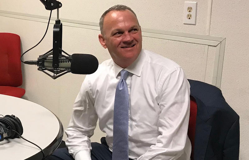 Florida House Speaker Richard Corcoran at the WJCT studios.
