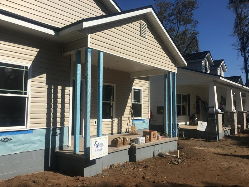 Habijax is close to finishing two new homes  in the New Town area of Jacksonville.