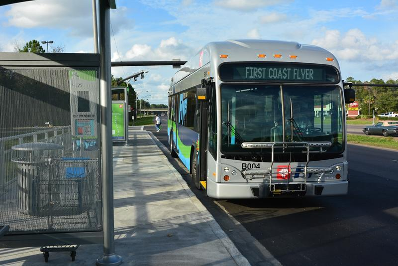 JTA is continuing to expand it's First Coast Flyer bus rapid transit service.