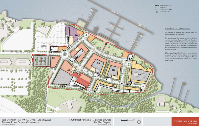Click the The District site plan to enlarge it.