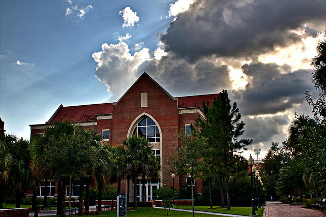 Pugh Hall at the University of Florida