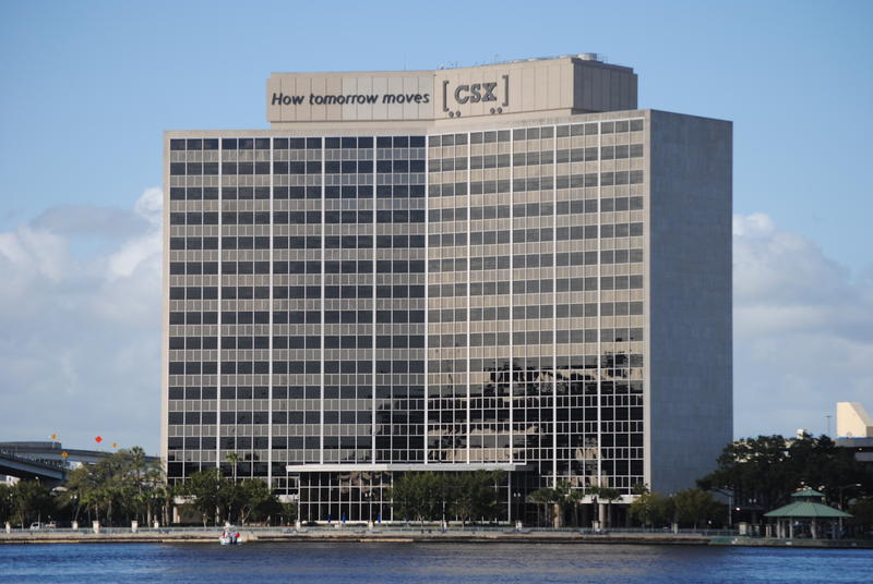 CSX's headquarters on the Northbank of downtown Jacksonville.