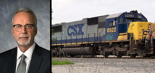 Jim Foote is the new CEO of CSX.