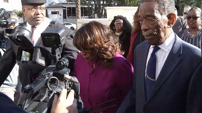 Former Congresswoman Corrine Brown was sentenced to five years in prison at Jacksonville's Federal Courthouse Monday.