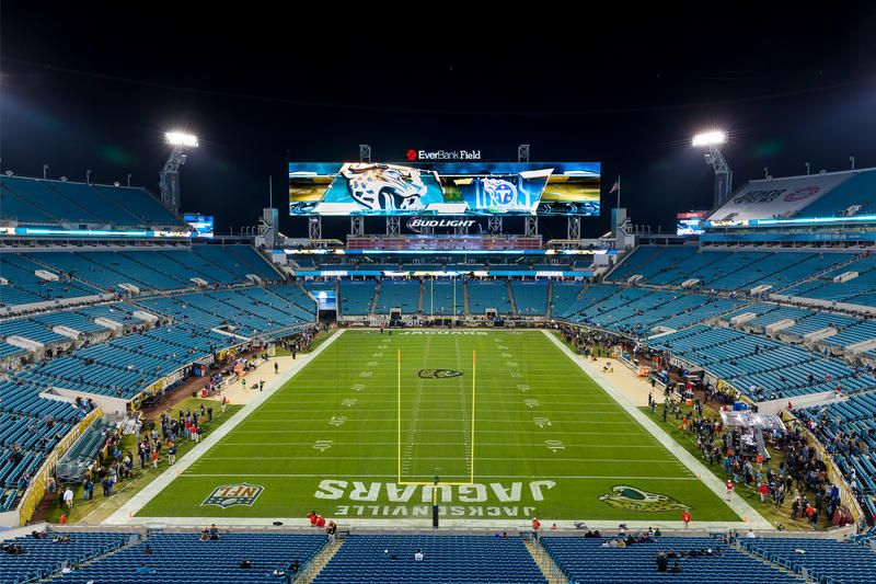 The Jaguars will host an AFC Wild Card game at EverBank Field.
