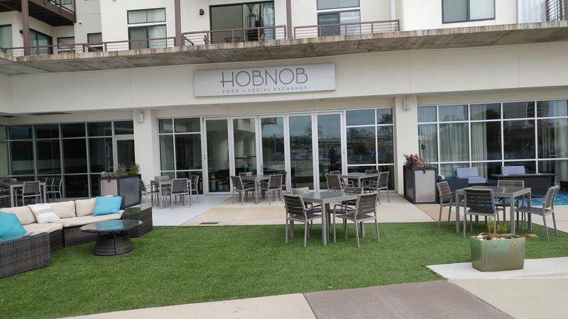 The restaurant portion of HOBNOB at 220 Riverside has closed.