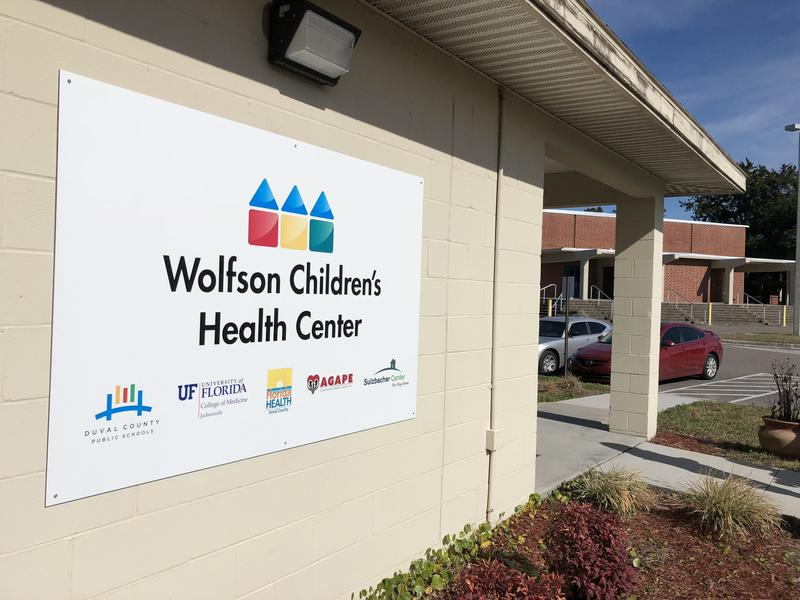 Jacksonville's first school-based health clinic, the Ribault Family Resource Center —  a Wolfson's Children's Health Center, had an open house Thursday.