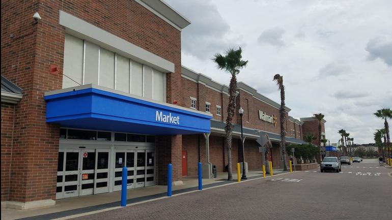 The Walmart Supercenter at 9890 Hutchinson Park Drive was developed in 2005.
