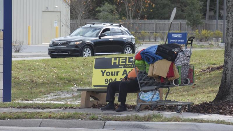 A social service outreach specialist has been hired to work with downtown Jacksonville's homeless community.
