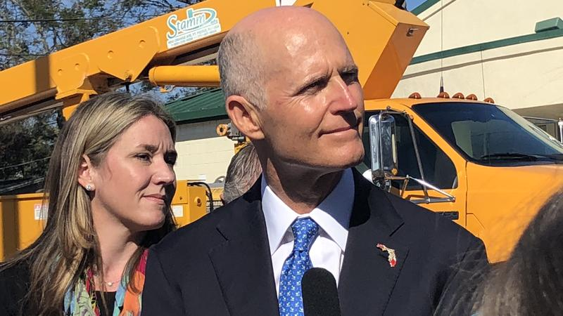 Florida Governor Rick Scott and  Florida Department of Economic Opportunity Executive Director Cissy Proctor announce $35 million in state awards from the Florida Job Growth Grant Fund.