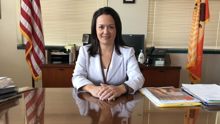 City Council President Anna Lopez Brosche