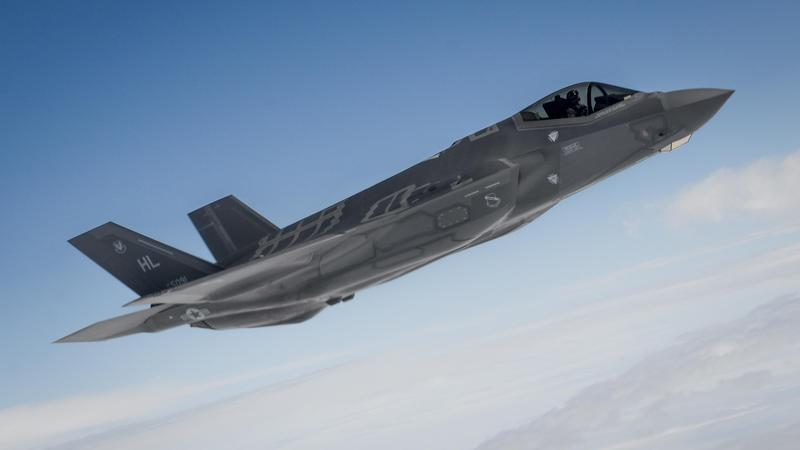 A F-35A Lightning II is pictured.