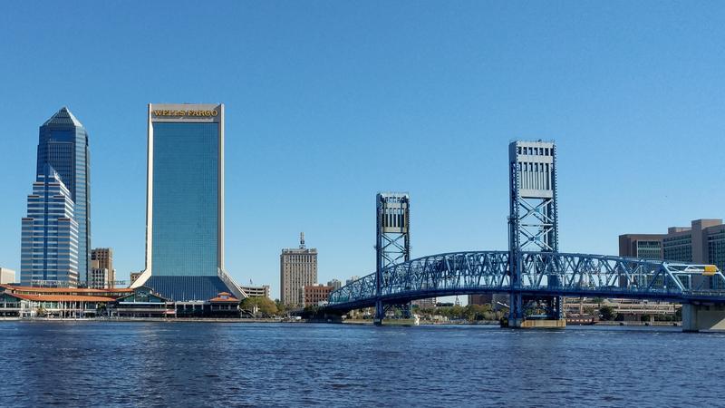 Jacksonville's Main Street Bridge is pictured on Tuesday.