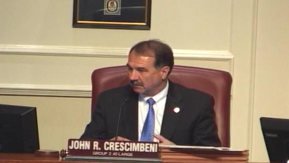 Councilman John Crescimbeni