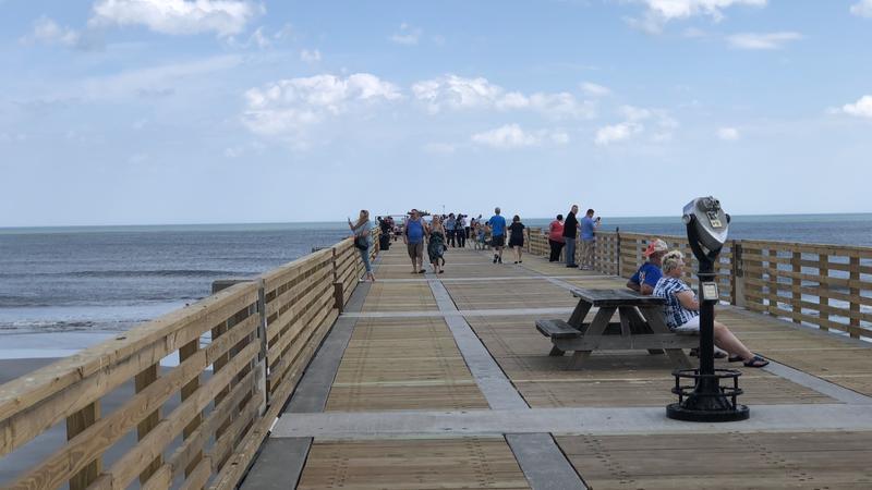 The Jacksonville Beach Pier.