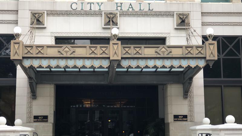 Exterior of Jacksonville City Hall.