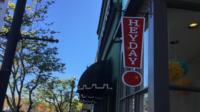 HeyDay toy store sign