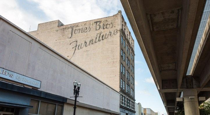 Jones Brothers Furniture Building downtown
