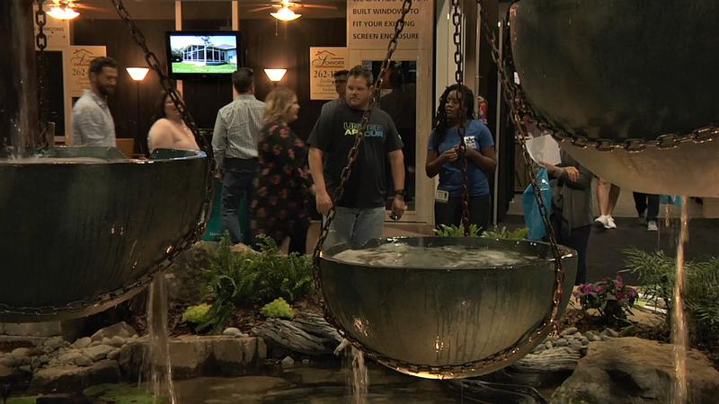 The Jacksonville Home & Patio Show is underway at the Prime Osborn Convention Center through Sunday.