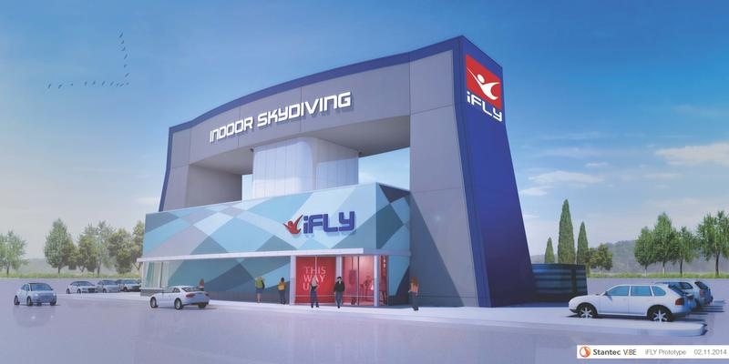 Rendering of iFly Indoor Skydiving