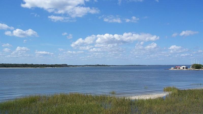 The Amelia River in Fernandina Beach is pictured.
