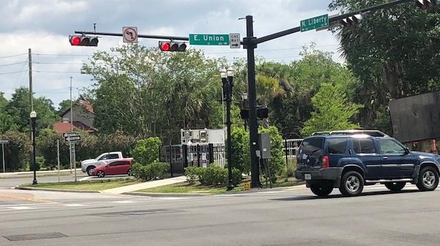 Union Street/Liberty Street intersection
