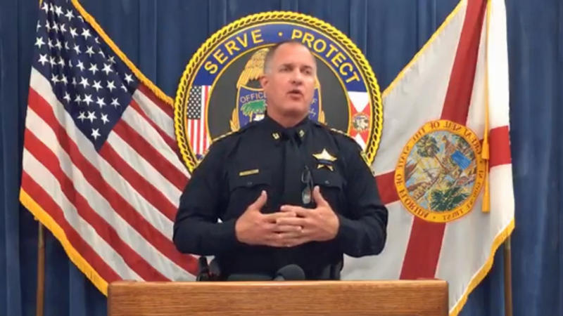 Jacksonville Under-Sheriff Pat Ivey (pictured) announced the arrest of Officer William Libby Thursday.