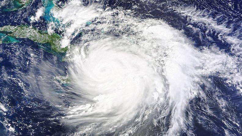 Hurricane Matthew, October 2016.