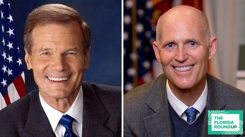 Sen. Bill Nelson (D-Fla.) and Gov. Rick Scott (R-Fla.)