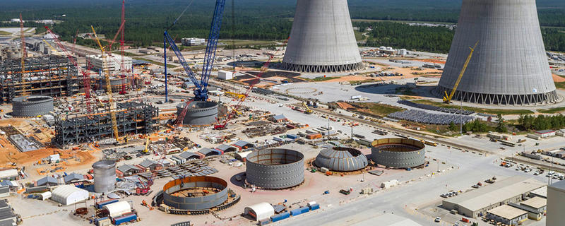 Reactors being constructed in Waynesboro, Georgia for Plant Vogtle.