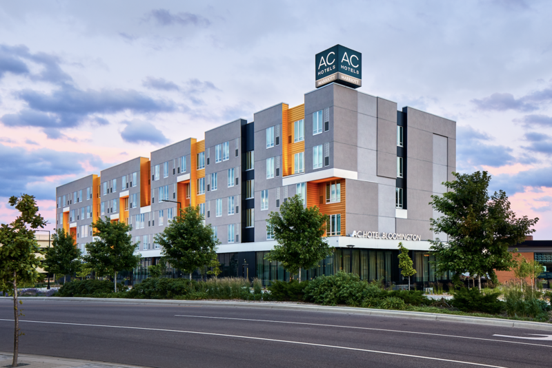 This image shows an AC Hotel by Marriott in Bloomington, Minn. Jacksonville's planned AC Hotel by Marriott is in the design phase.
