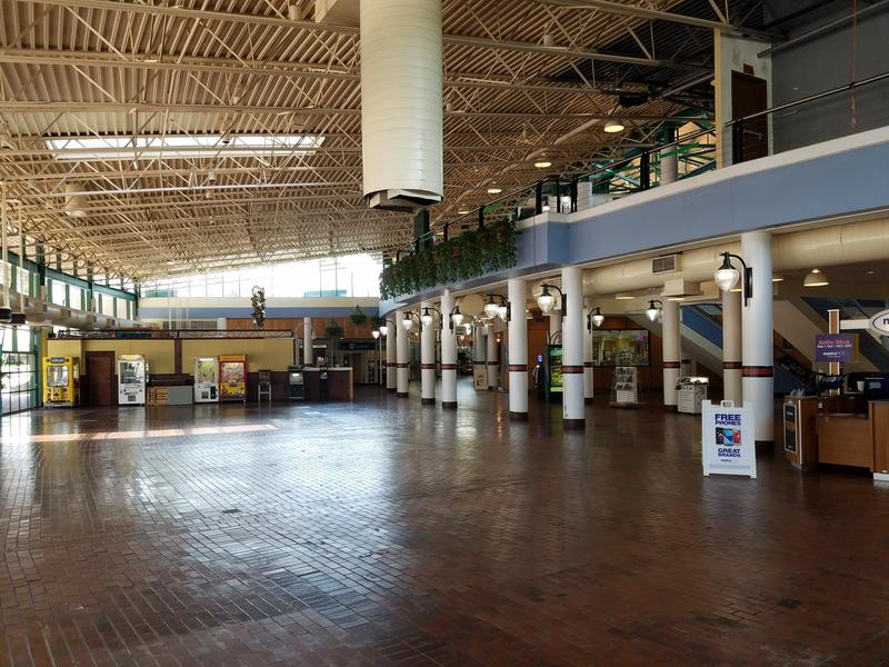 The Village Bread Cafe formally occupied this space in The Jacksonville Landing.