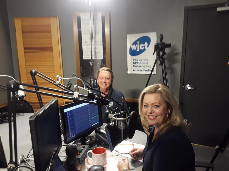 Retiring UNF President John Delaney appeared Wednesday morning on WJCT's First Coast Connect with Melissa Ross