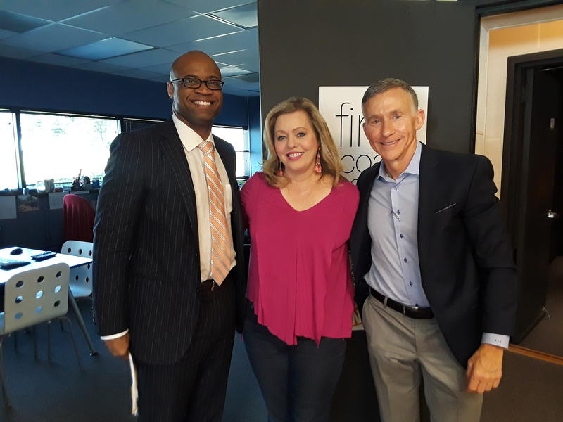 Kids Hope Alliance CEO (l) and Board Chair Kevin Gay (r) joined Mellisa Thursday on First Coast Connect