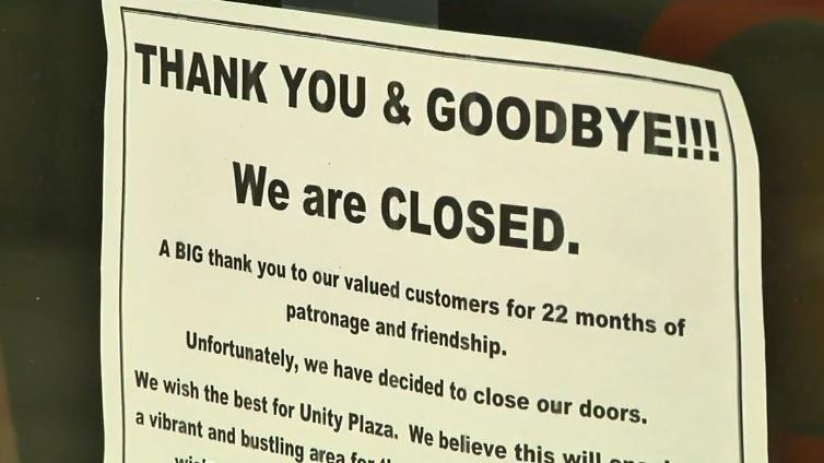 """""""Thank You & Goodbye. We Are Closed"""""""