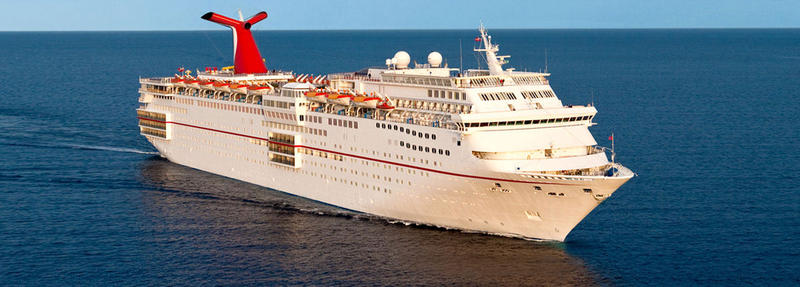 The Carnival Ecstasy is scheduled to arrive in Jacksonville in May 2019.
