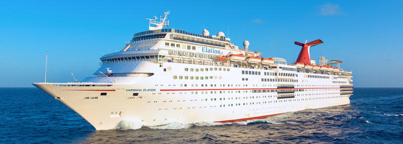 The Carnival Elation currently sails out of Jacksonville.