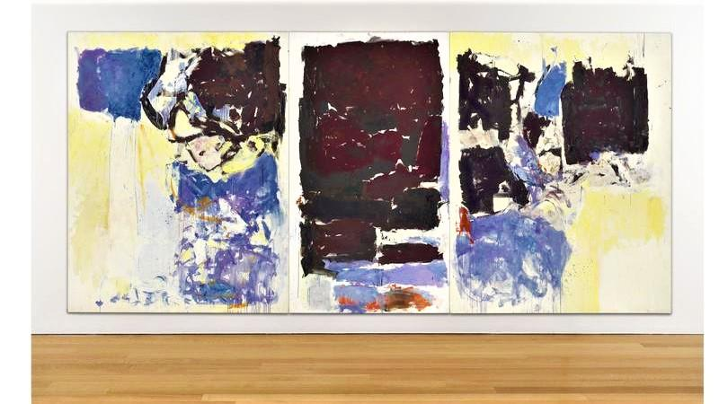 Iva by abstract expressionist Joan Mitchell sold at auction for $2.7 million.
