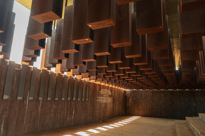 The National Memorial for Peace and Justice is dedicated to victims of lynching. The memorial includes pillars or columns for every county where lynchings were uncovered. Duval County is one of them.