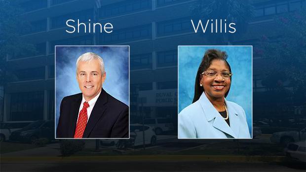 Scott Shine and Patricia Willis.