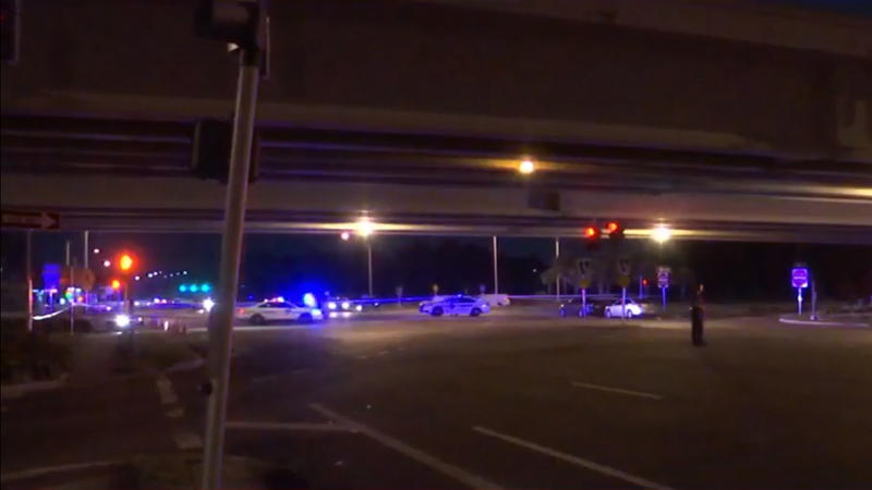 The Jacksonville Sheriff's Office investigates a  quadruple shooting off Town Center Parkway Tuesday night.