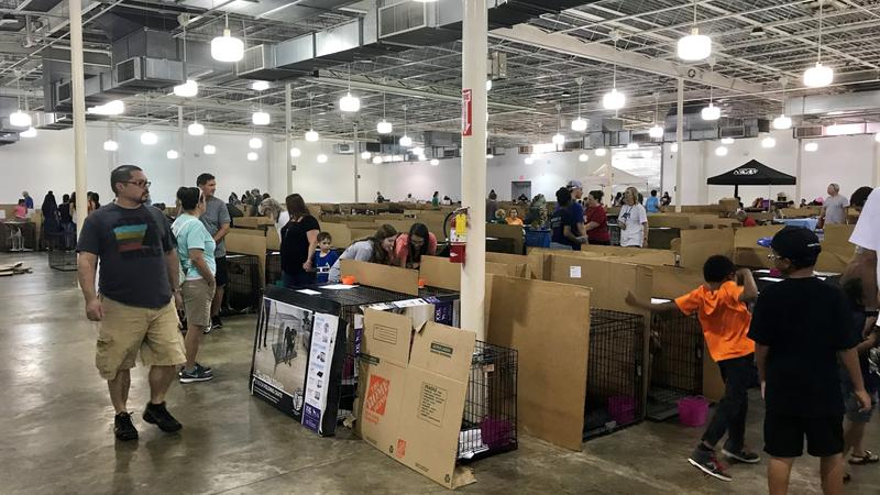 The Mega Pet Adoption Event at the Jacksonville Fairgrounds started Friday and runs through the weekend.